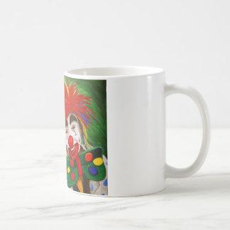 Kid Clowns  Painting Coffee Mug