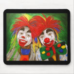 Kid Clowns  Painting Mouse Pad