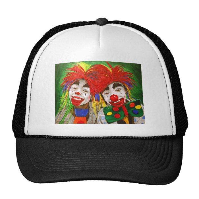 Kid Clowns  Painting Trucker Hat