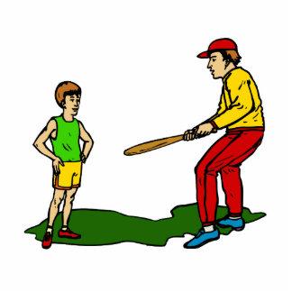 kid & coach cutout