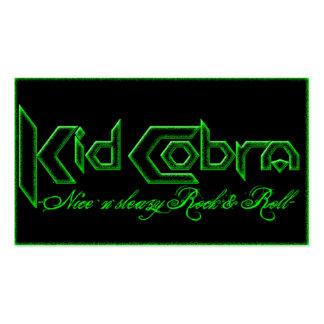 Kid Cobra Business Card