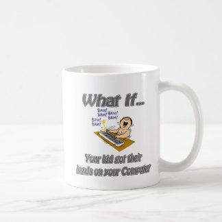 Kid Computer Coffee Mug
