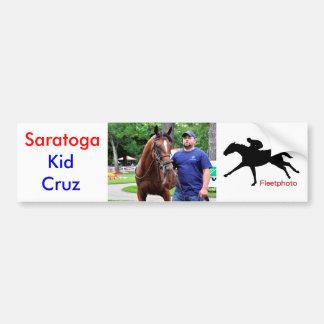 Kid Cruz at Saratoga Car Bumper Sticker