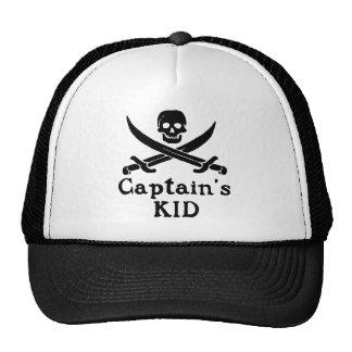 Kid de capitán gorras