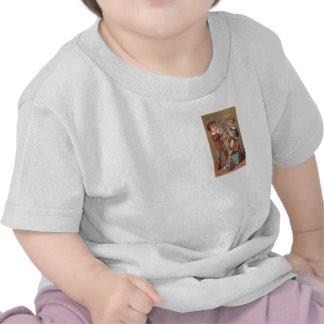 kid december chrismas enfant noel decembre vintage t-shirts