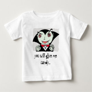 kid dracula, you will give me candy... tee shirt