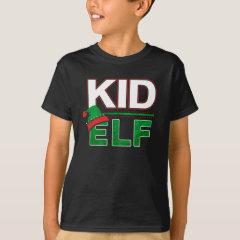 Kid Elf | Christmas Holiday Elf Family Funny | T-Shirt