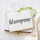 Kid entrepreneur jumbo shortbread cookies