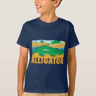 Kid Friendly Alligator T-Shirt