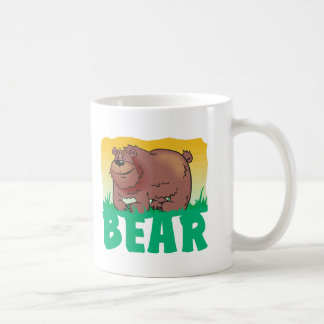 Kid Friendly Bear Coffee Mug