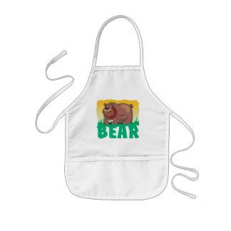 Kid Friendly Bear Kids' Apron