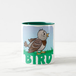 Kid Friendly Bird Coffee Mugs