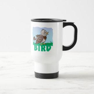 Kid Friendly Bird Travel Mug