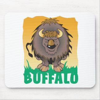 Kid Friendly Buffalo Mouse Pad