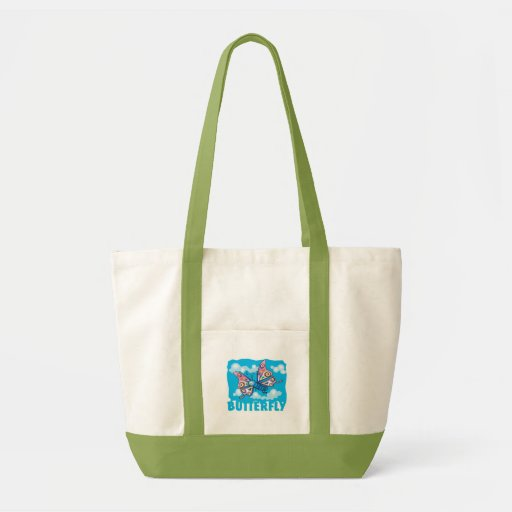 Kid Friendly Butterfly Tote Bags