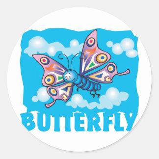 Kid Friendly Butterfly Stickers