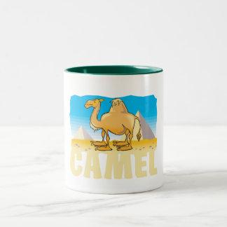 Kid Friendly Camel Two-Tone Coffee Mug