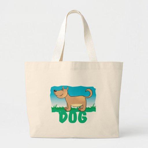 Kid Friendly Dog Canvas Bags
