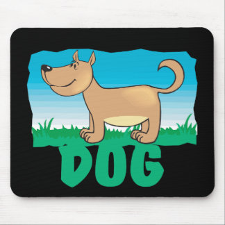 Kid Friendly Dog Mouse Pad