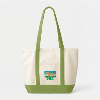 Kid Friendly Dog Tote Bag
