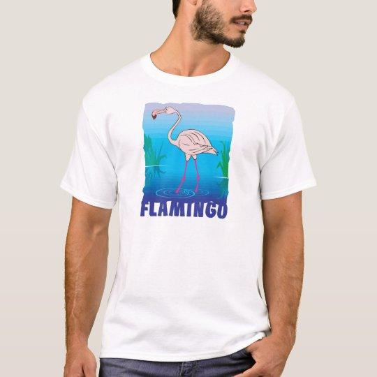 Kid Friendly Flamingo T-Shirt
