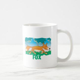 Kid Friendly Fox Coffee Mug