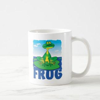 Kid Friendly Frog Coffee Mug