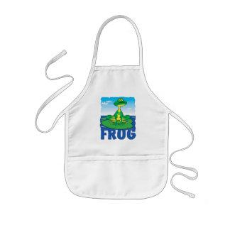 Kid Friendly Frog Kids' Apron