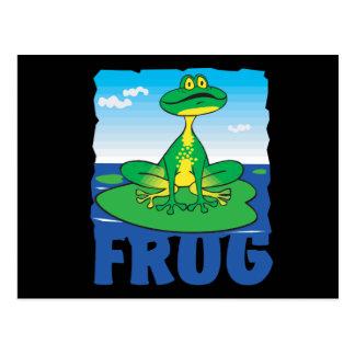 Kid Friendly Frog Postcard
