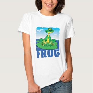 Kid Friendly Frog T-Shirt