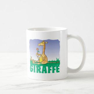 Kid Friendly Giraffe Coffee Mug