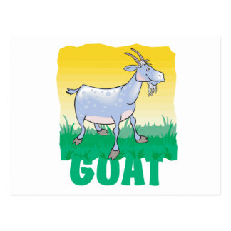 Kid Friendly Goat Postcard