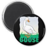 Kid Friendly Goose Fridge Magnets