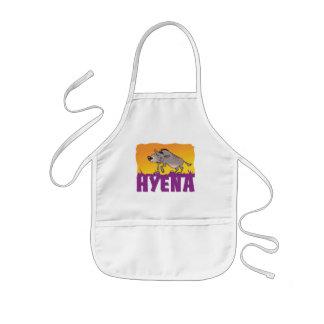 Kid Friendly Hyena Kids' Apron