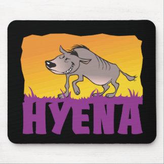 Kid Friendly Hyena Mouse Pad
