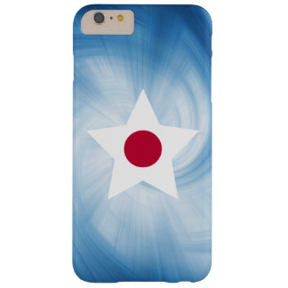 Kid Friendly Japan Flag Star Barely There iPhone 6 Plus Case