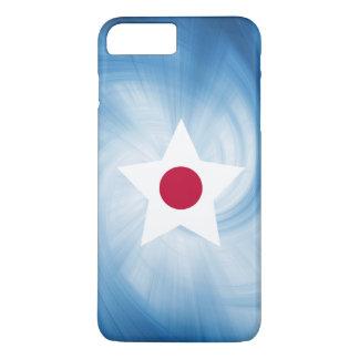 Kid Friendly Japan Flag Star iPhone 7 Plus Case