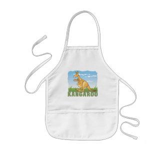 Kid Friendly Kangaroo Kids' Apron