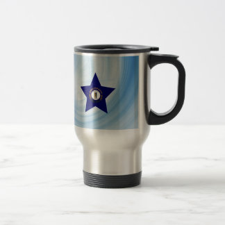 Kid Friendly Kentucky Flag Star Travel Mug