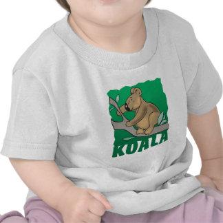 Kid Friendly Koala Bear Tee Shirts