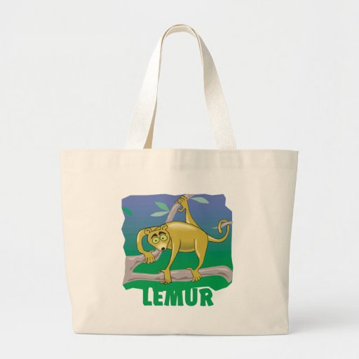 Kid Friendly Lemur Bags