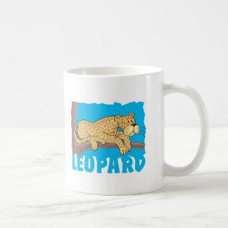 Kid Friendly Leopard Coffee Mug