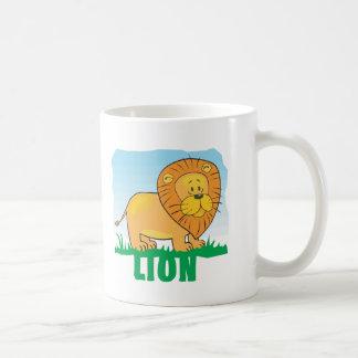 Kid Friendly Lion Coffee Mug