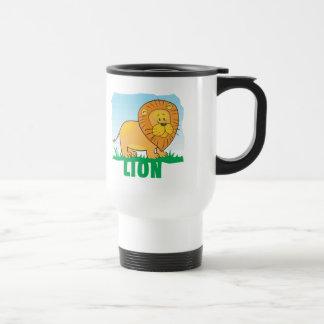 Kid Friendly Lion Travel Mug
