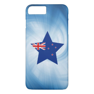 Kid Friendly New Zealand Flag Star iPhone 7 Plus Case