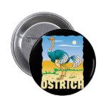 Kid Friendly Ostrich Pins