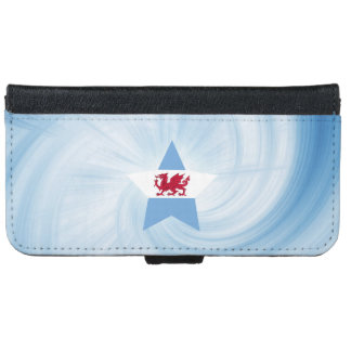 Kid Friendly Patagonia Flag Star iPhone 6/6s Wallet Case