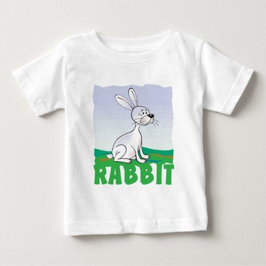 Kid Friendly Rabbit Baby T-Shirt