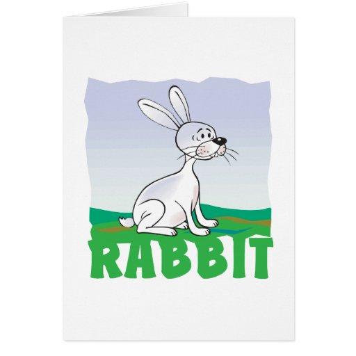 Kid Friendly Rabbit Card