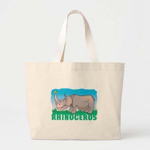 Kid Friendly Rhinoceros Bags